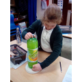 Fair Test - Investigating the mass (weight) of gas in various fizzy bottles.