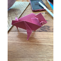 Year of the Ox - Origami