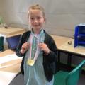Proud medal