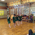 Telling the Roman invasion story through dance.
