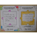 Children's thoughts on how to deal with bullying.