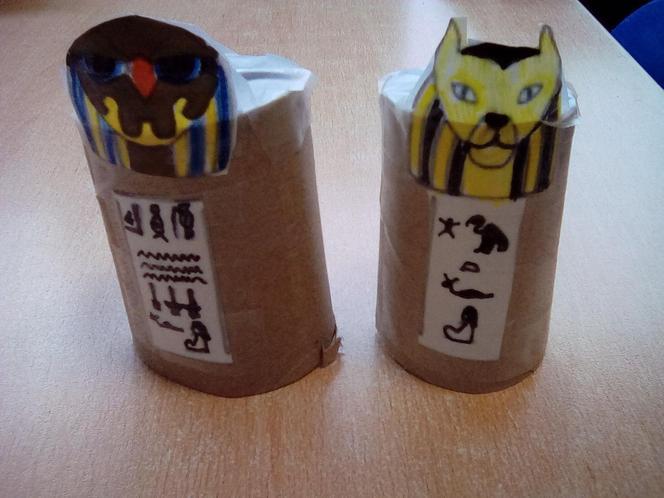 Cora's Canopic Jars
