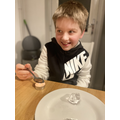 Science - chocolate melting lava experiment!