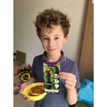 Cucumber planting by Oscar