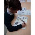 Listening to French Words and Drawing the Images