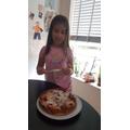 Ella has been cooking!