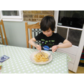 Lent - Making and Eating Pancakes