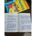 Theo's writing