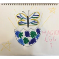 Phoebe's magical egg