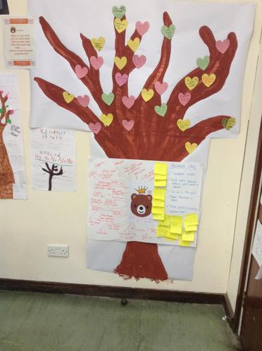 Our Kindness Tree and Planning