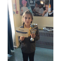 15.02.19 - This week's winner, Millie!