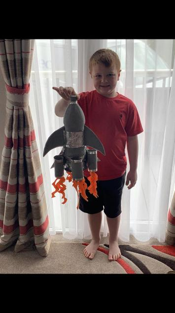 Ronnie has made an amazing rocket
