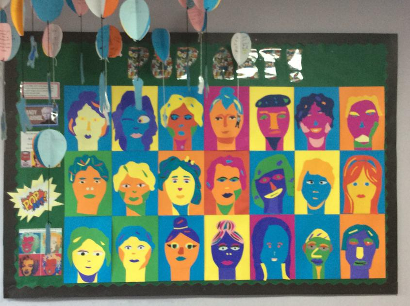 Year 6- Andy Warhol