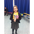 14.02.20 - This week's winner, Mia!