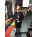 15.06.18 - This week's winner, Oscar... again!