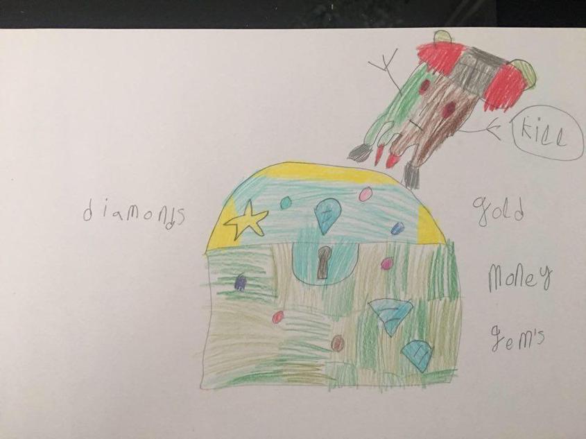 Olly's fantastic English work so far!