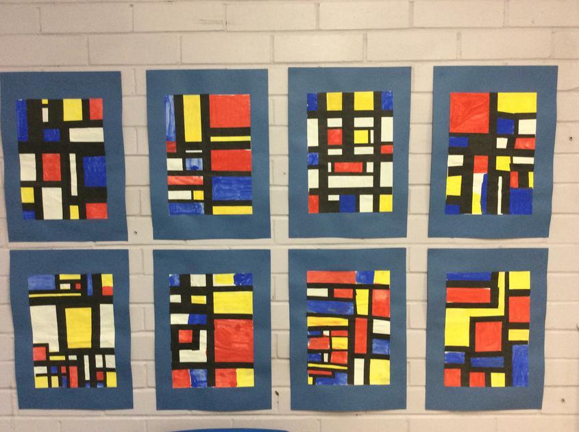 Year 3- Mondrian
