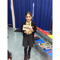 13.03.20 - This week's winner, Rouza!