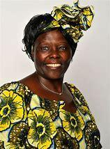Wangari Maathai the inspirational black woman who planted a million trees in kenya.