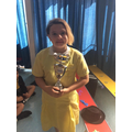 24.05.19 - This week's winner, Fiore!