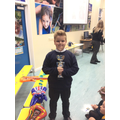 28.09.18 - This week's winner, Liam!