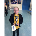 19.10.18 - This week's winner, Evie!