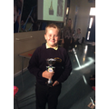 14.09.18 - This week's trophy winner, Oscar!