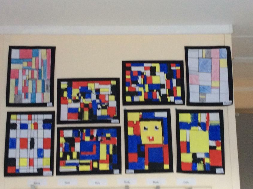 Year 5- Mondrian