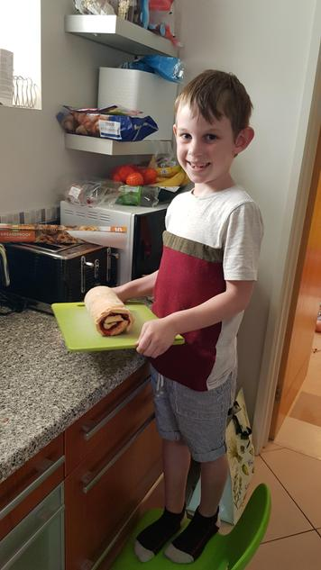 David's delicious looking baking!