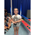 05.07.19 - This week's winner, Faith!