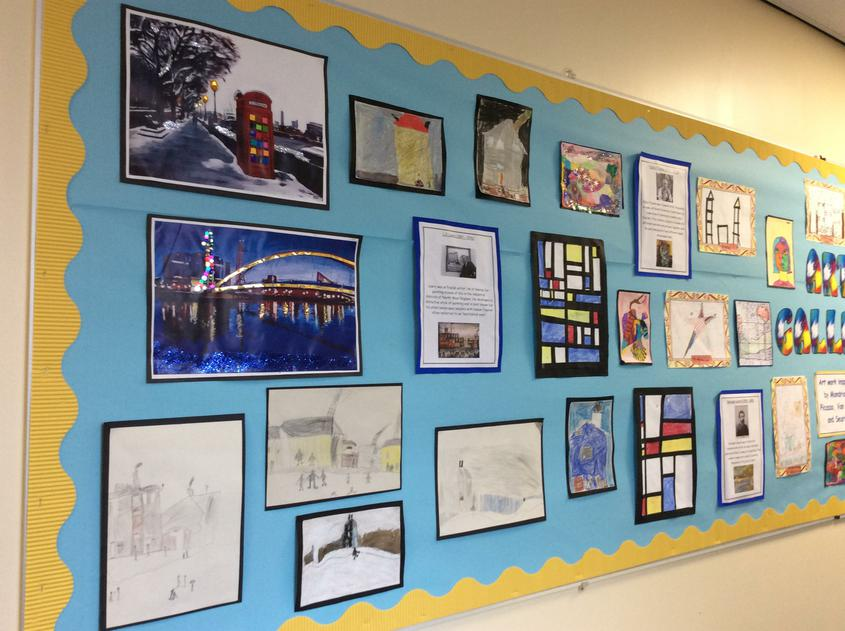 Year 2- Mondrian, Picasso, Van Gogh and Seurat