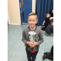 14.12.18 - This week's winner, Callum!