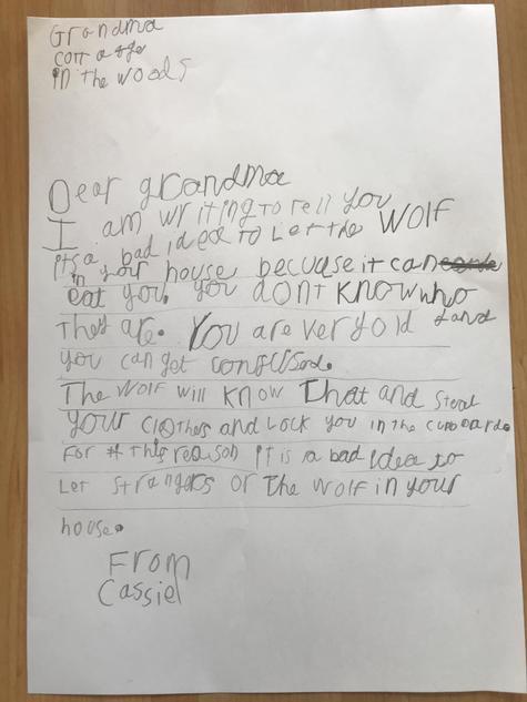 Cassiel's very persuasive letter