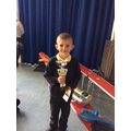 17.01.20 - This week's winner, Callum!