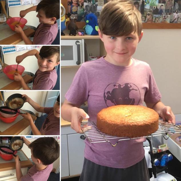 Cassiel's scrumptious cake