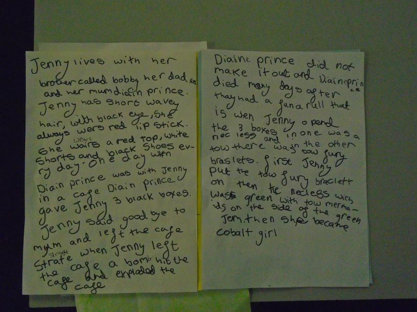 The back story for Cobalt Girl