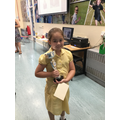 06.07.18 - This week's winner, Mia!