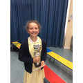 17.05.19 - This week's winner, Evie!