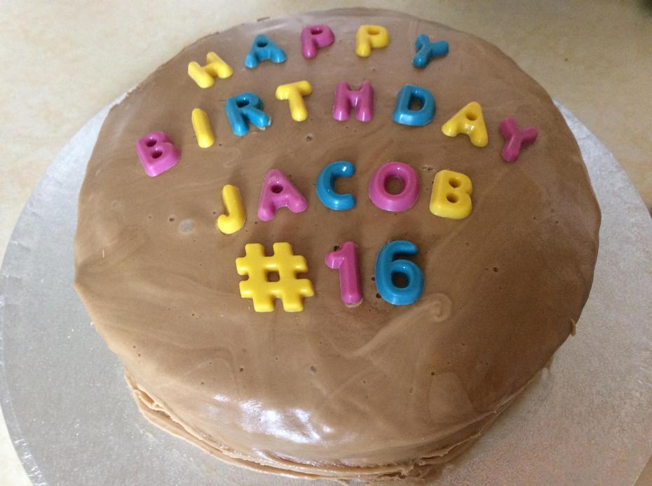 Happy Birthday Jacob.