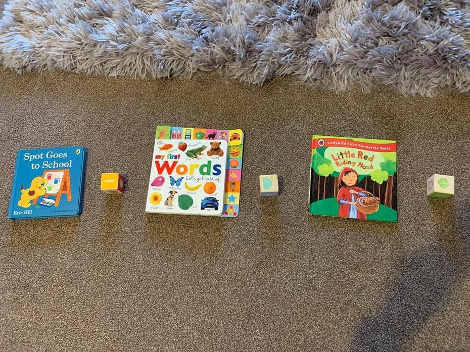 Book, brick, book, brick, book, brick, ?