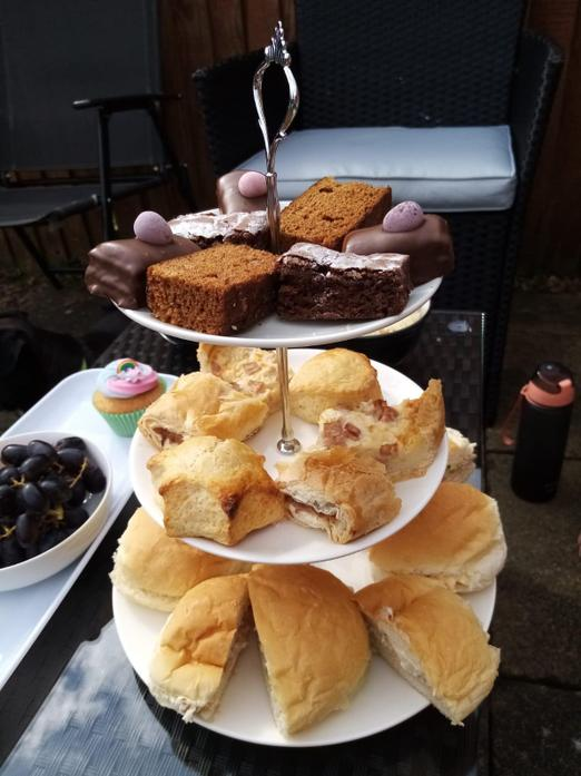VE Day party food