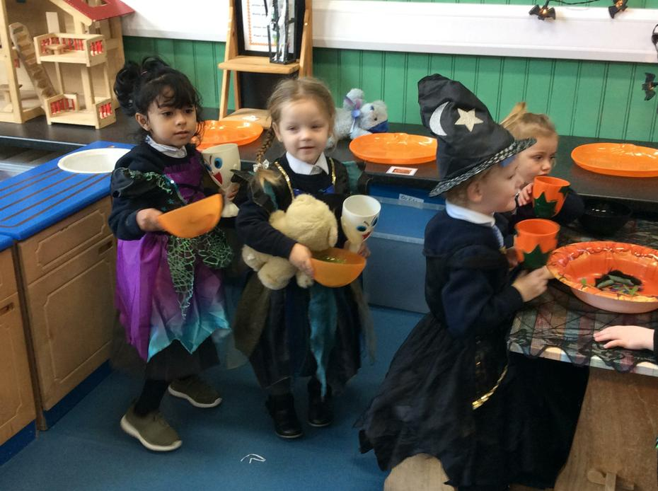 Halloween dress up and role play.