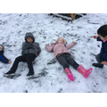 More snow Angels.