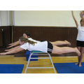 In gymnastics we have been working on balances.