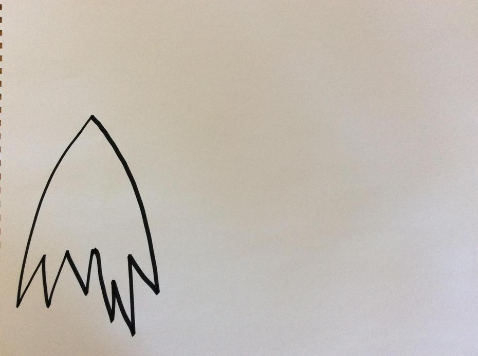 First draw Meg's cloak.
