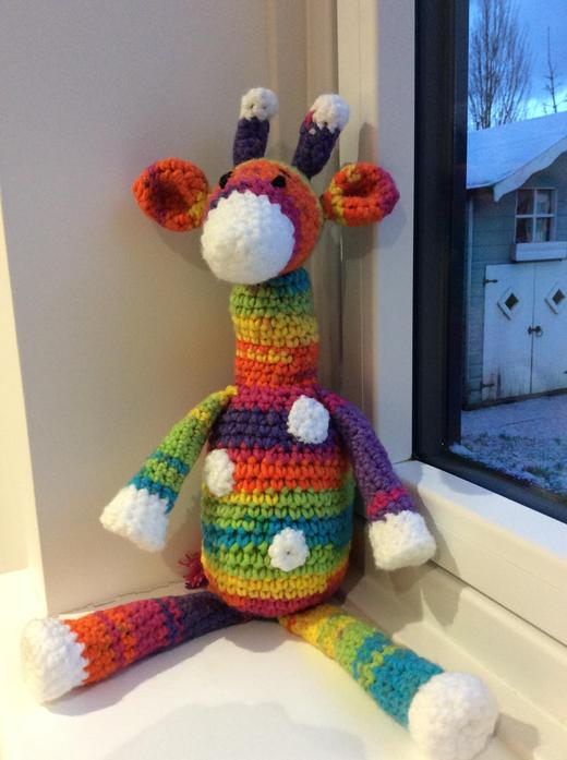 I have crocheted a Giraffe!