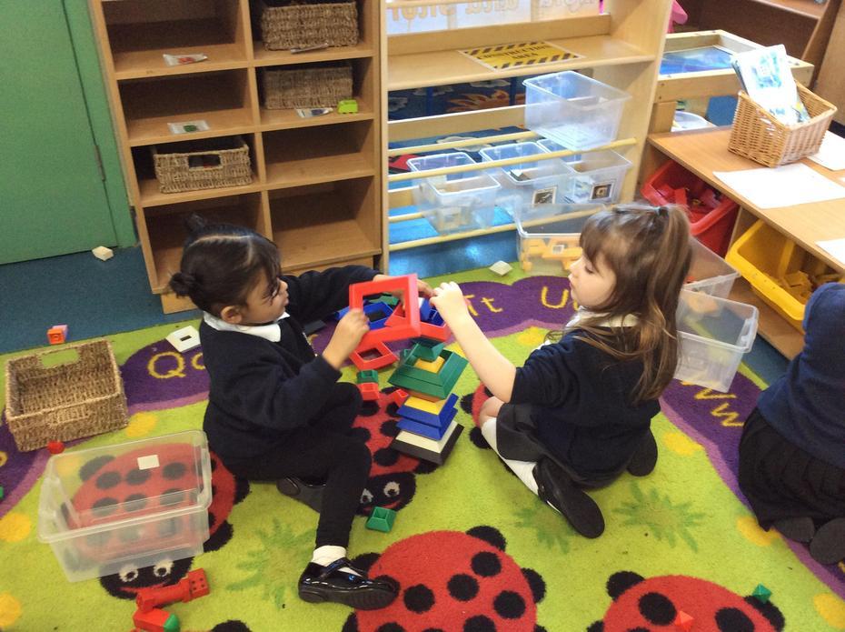 Building models together.