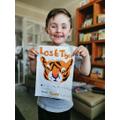A bold, bright Lost Tiger poster