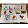 Alice's art challenge