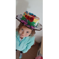 A very colourful Easter bonnet